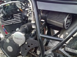 mesin oake yamaha scorpio