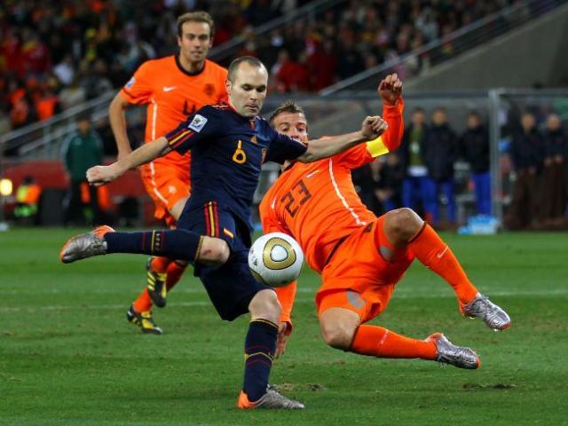 Belanda vs Spanyol 2010