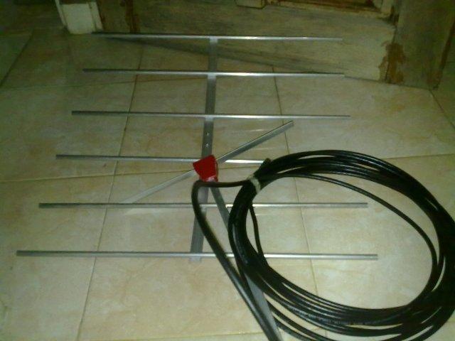 antena siap di rakit